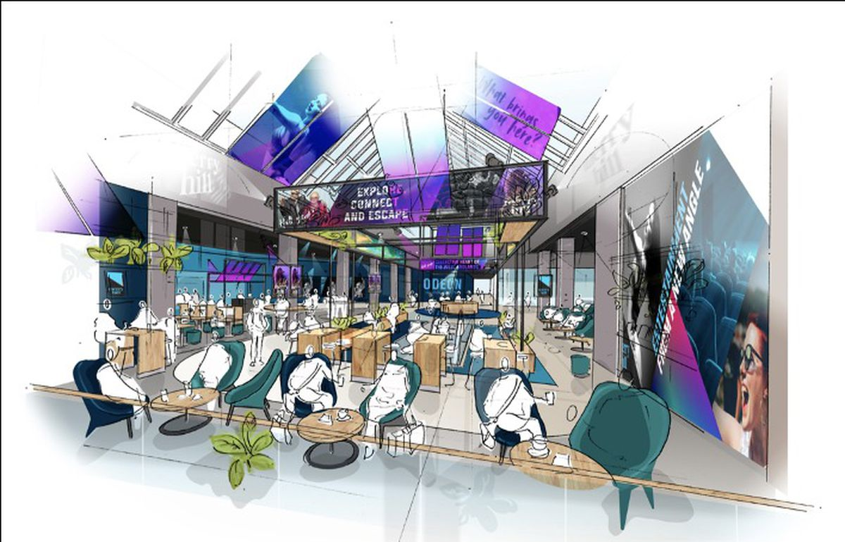 How the leisure district could look