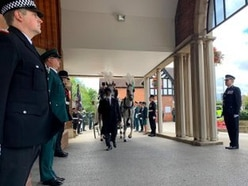 Guard of honour at funeral of special constable after death aged 52