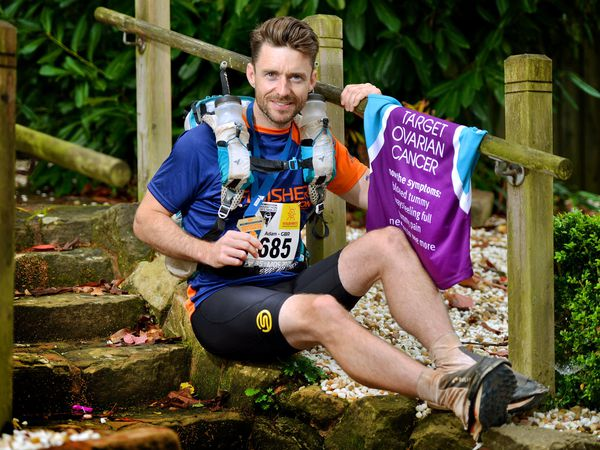 Adam Jones has completed the punishing Marathon De Sables in the Sahara Desert in Morocco, raising money for a cancer charity