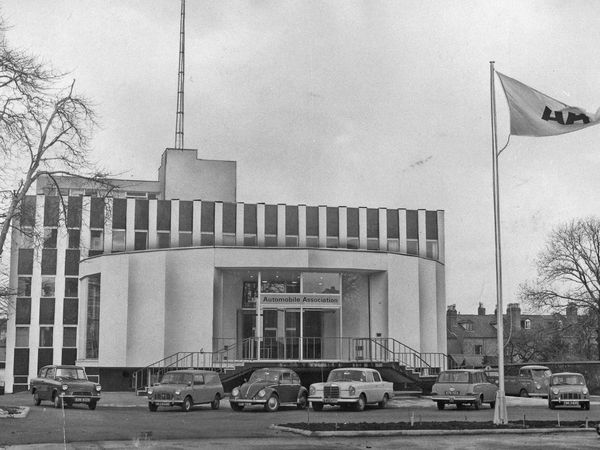 New AA offices at Hagley Road, Birmingham, 1966.