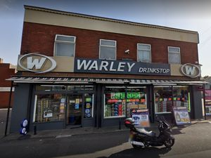 Warley Drink Stop in Wednesbury was among the shops infested. Photo: Google