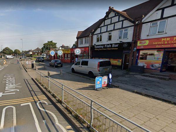 Tynedale Road, Tyseley. Photo: Google Street View