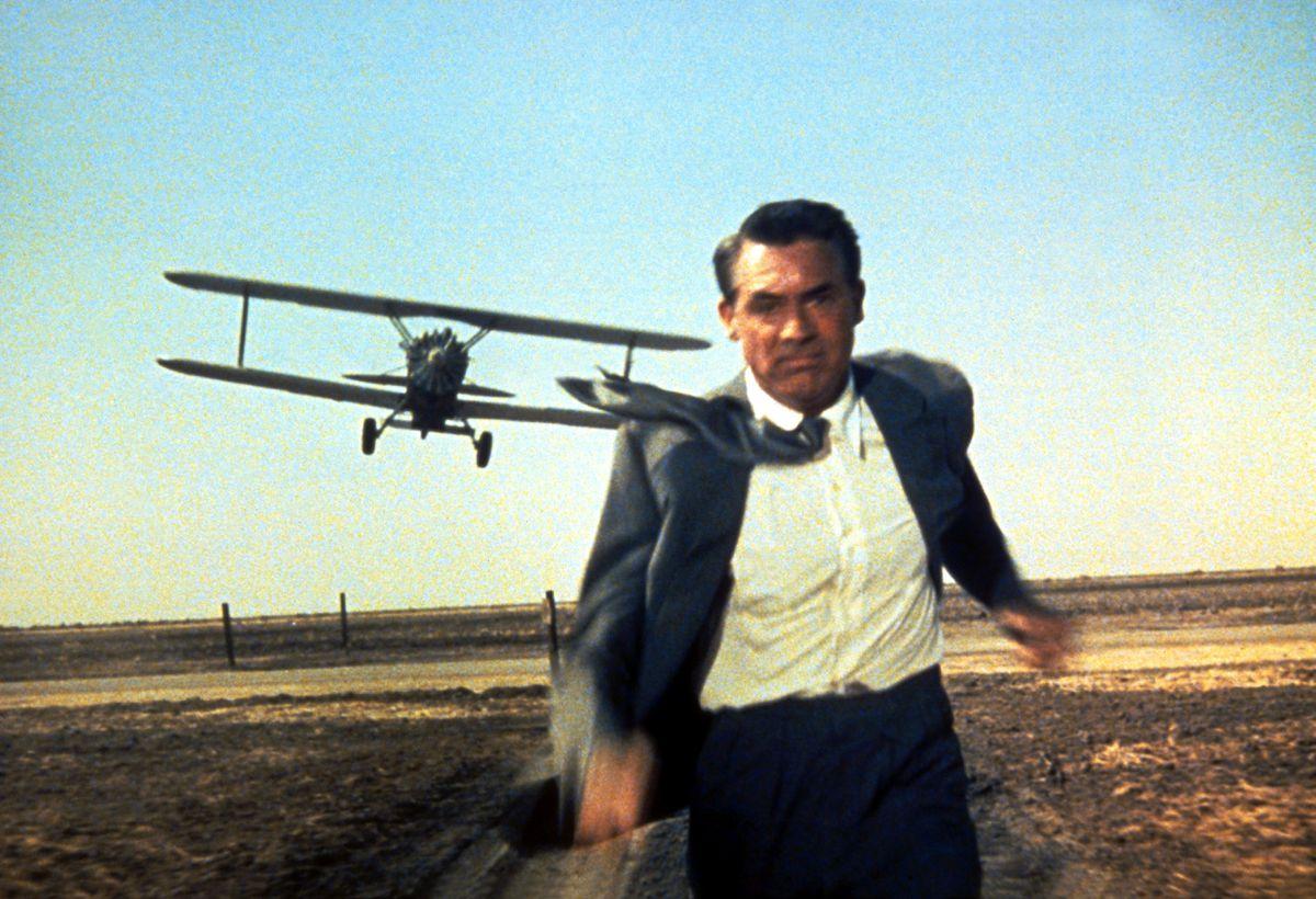 Tough target – Cary Grant