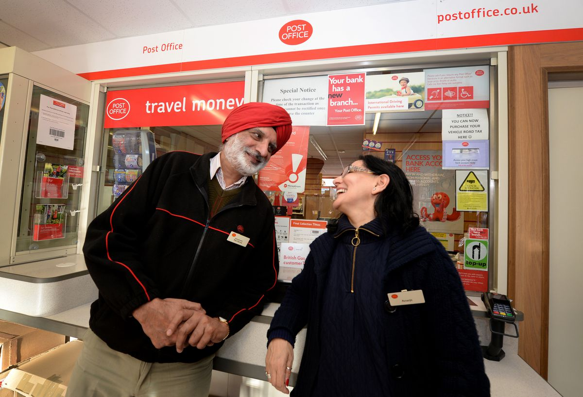 Paul and Amarjit Samra keep the Post Office in Union Street