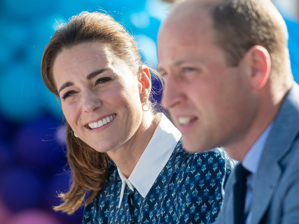 The Duke and Duchess of Cambridge are to travel by Royal Train thanking communities for their efforts during the pandemic. Joe Giddens/PA Wire