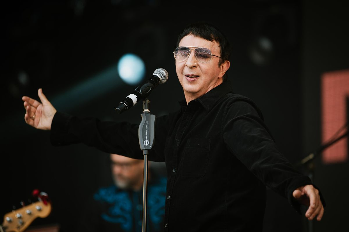 Marc Almond performing at the 80's Festival 'Let's Rock Shrewsbury'