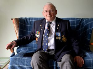 DUDLEY COPYRIGHT EXPRESS&STAR TIM THURSFIELD-29/01/21.Bernard McKeown, known as Barney, from Kingswinford is an 83-year-old ex-serviceman who has launched a campaign on Facebook to get the NHS rebranded as the Royal National Health Service. .He is a member of the RBL and says the group got their royal title for their dedicated work..