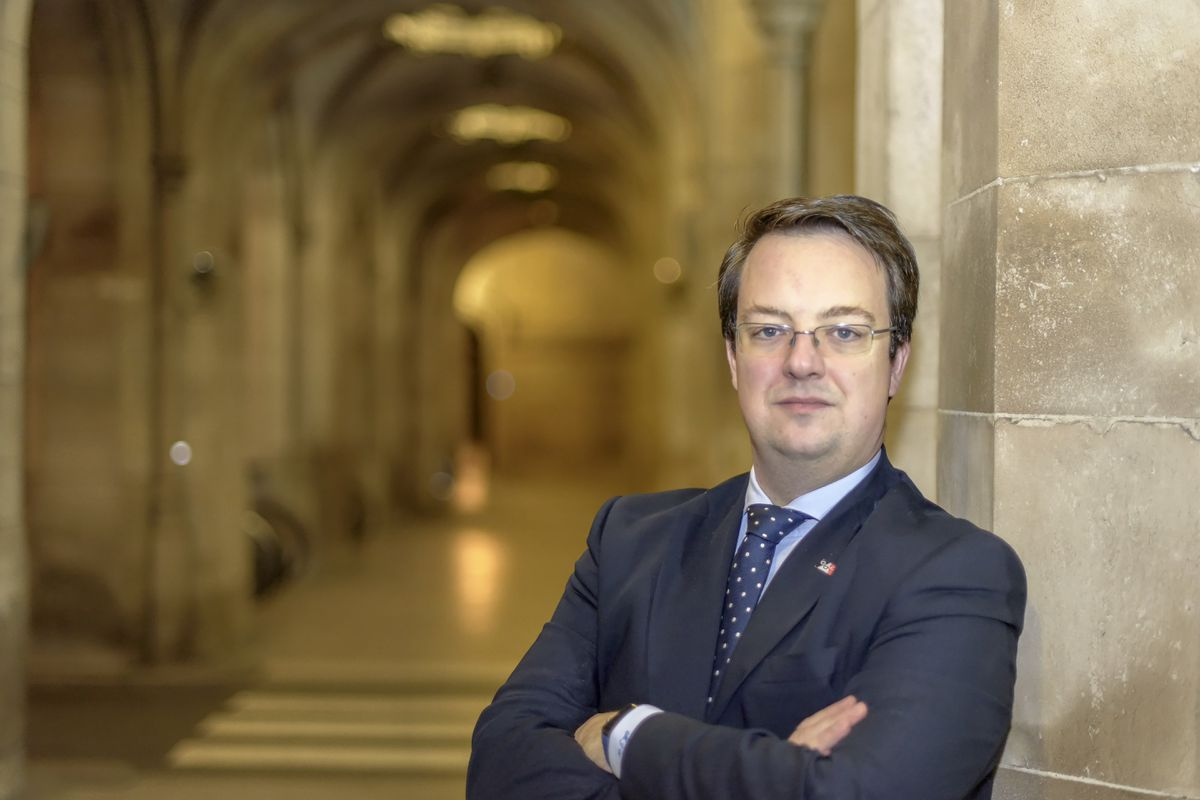 Conservative MP Mike Wood