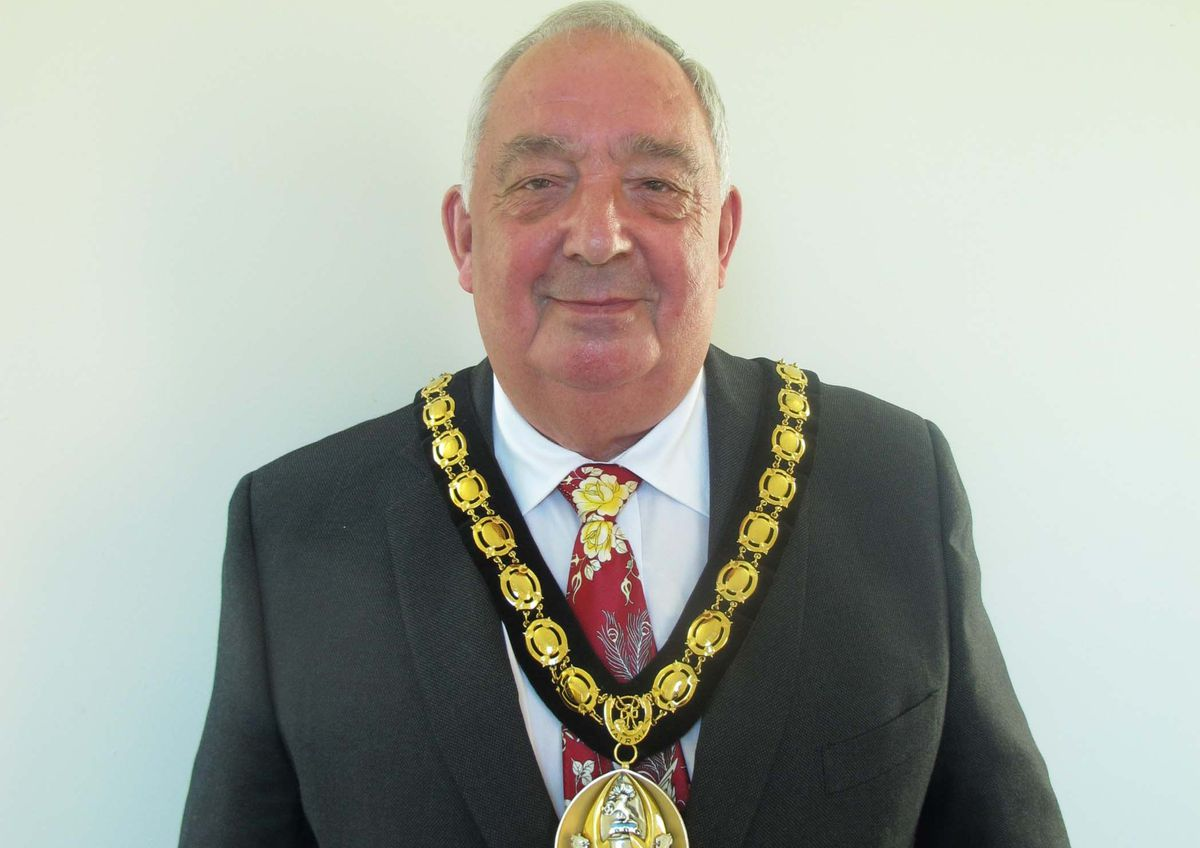 Councillor Alan Dudson, chairman of Cannock Chase District Council
