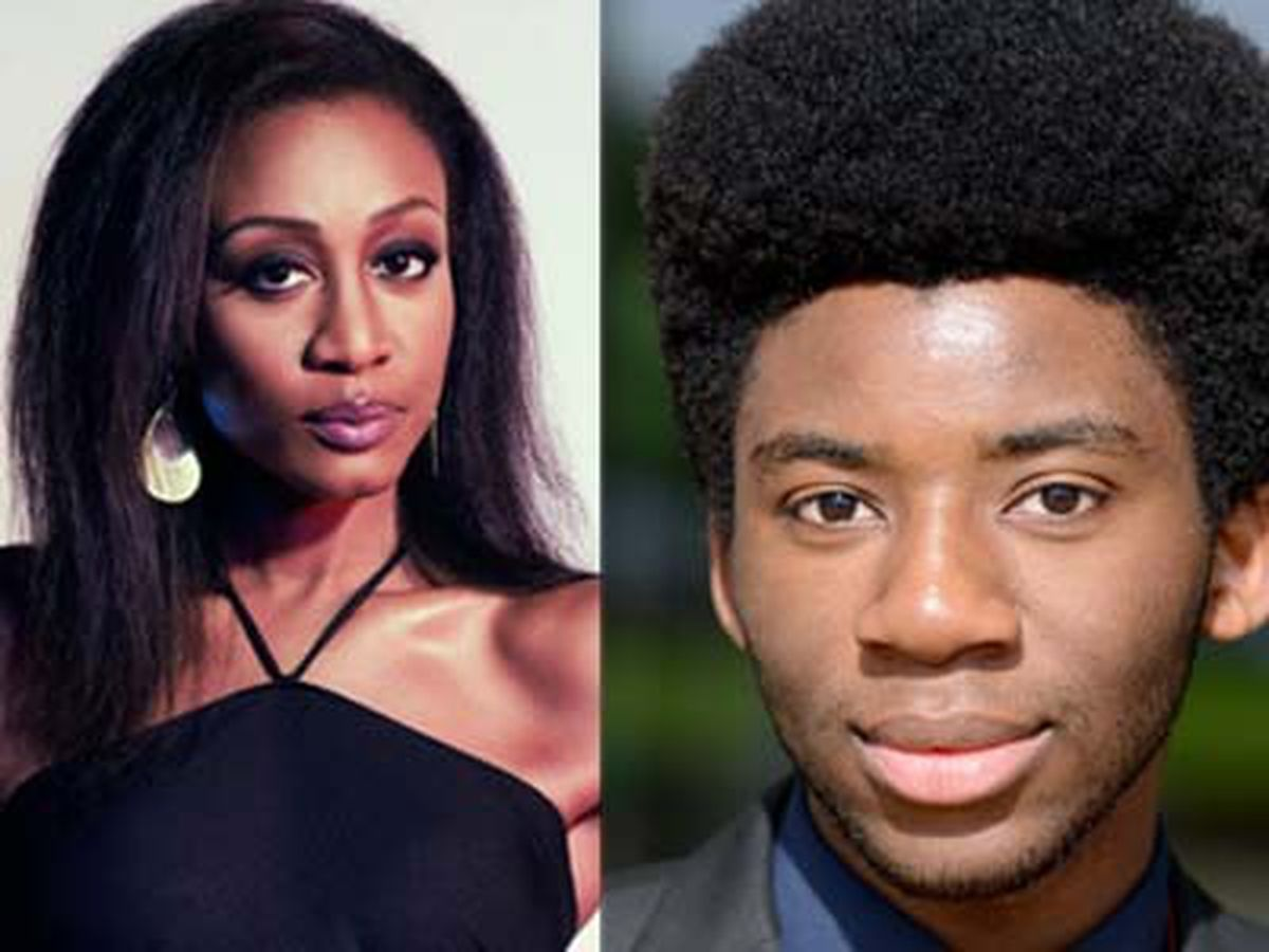 Beverley Knight and Brian White