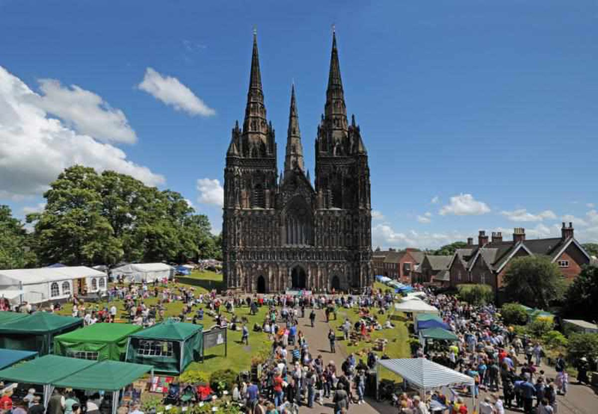 A weeken's worth of events are taking place at Lichfield Cathedral