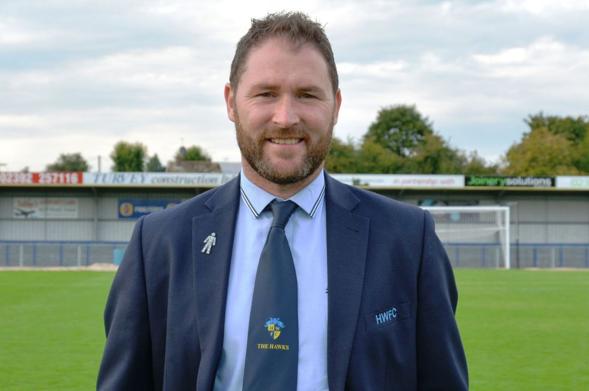 Lee Bradbury, now manager of Havant & Waterlooville, remains close friends with Moore.