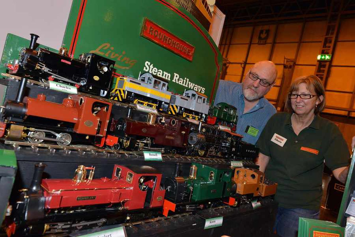 20,000 model railway enthusiasts attend Black Country club's annual exhibition