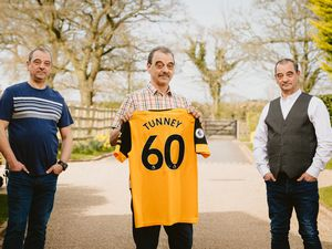Triplets Andrew, Paul and Martin Tunney celebrate their 60th birthday