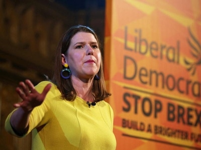 Swinson signals accord with Labour more likely if Corbyn quits