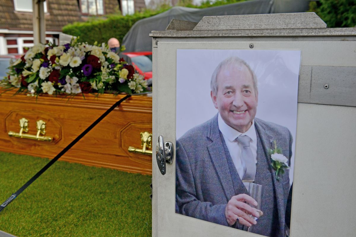 Milkman Kieron Moss died on December 15