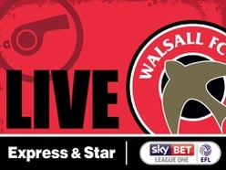 Gillingham 0 Walsall 3 - As it happened