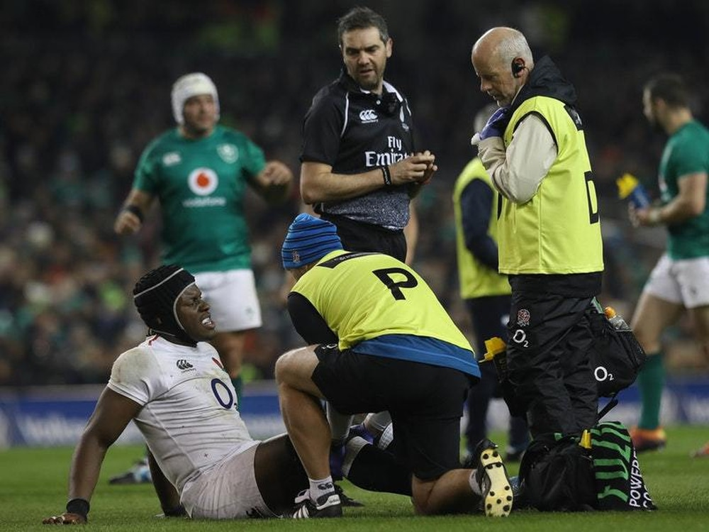 England suffer Itoje blow as lock is diagnosed with medial ligament tear
