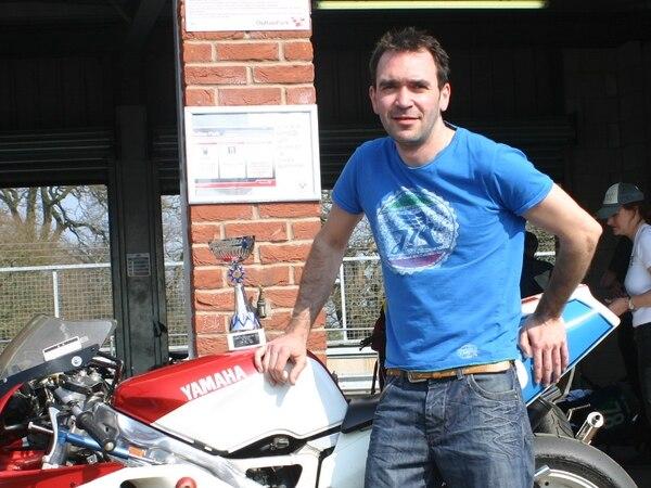 Former TT racer Andrew Davies still feeling the need for speed