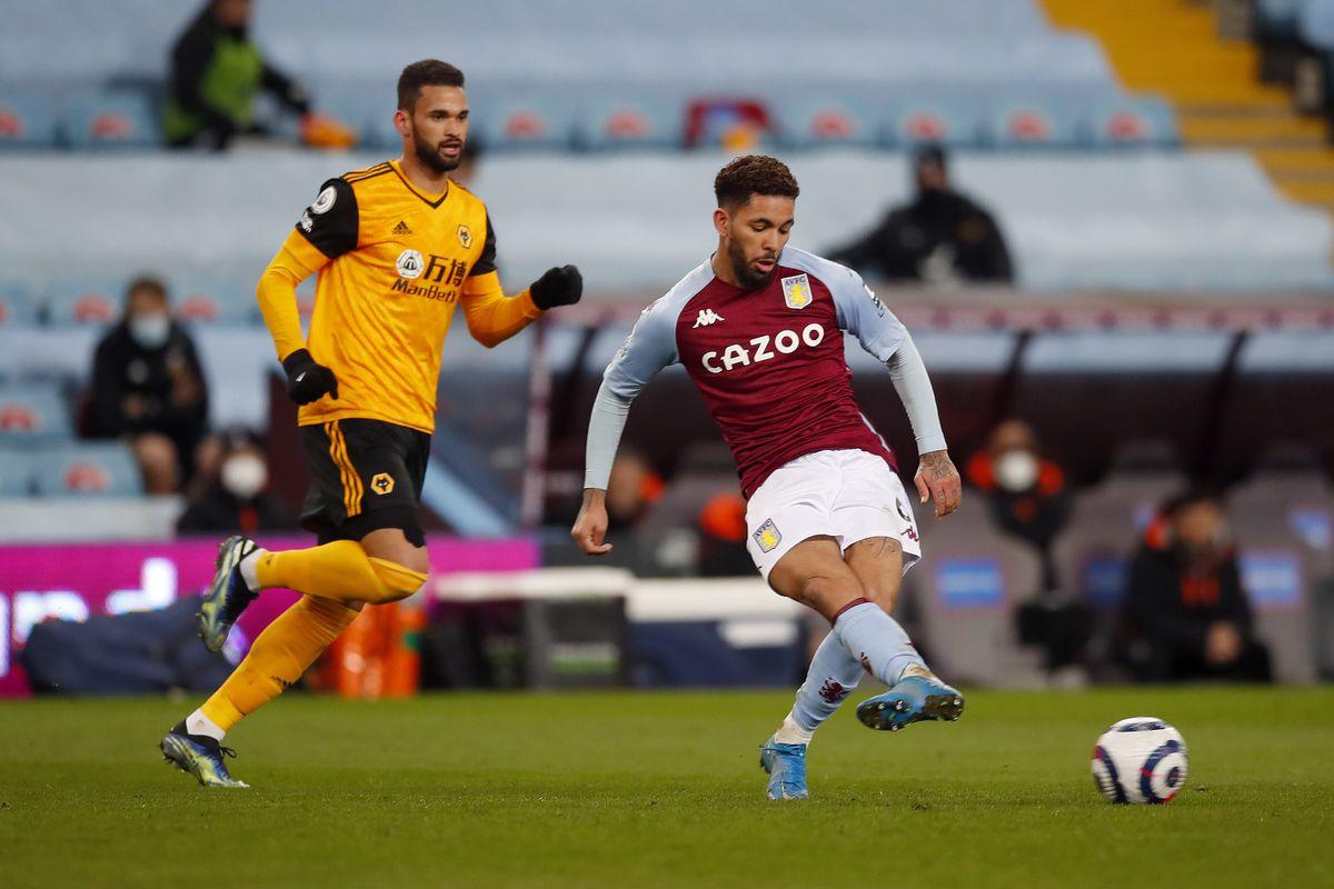 Douglas Luiz of Aston Villa and Willian Jose of Wolverhampton Wanderers (AMA)
