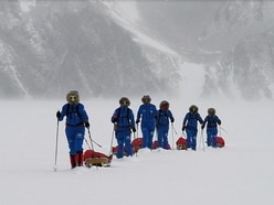 British Ice Maidens become first all-female group to cross Antarctica unpowered