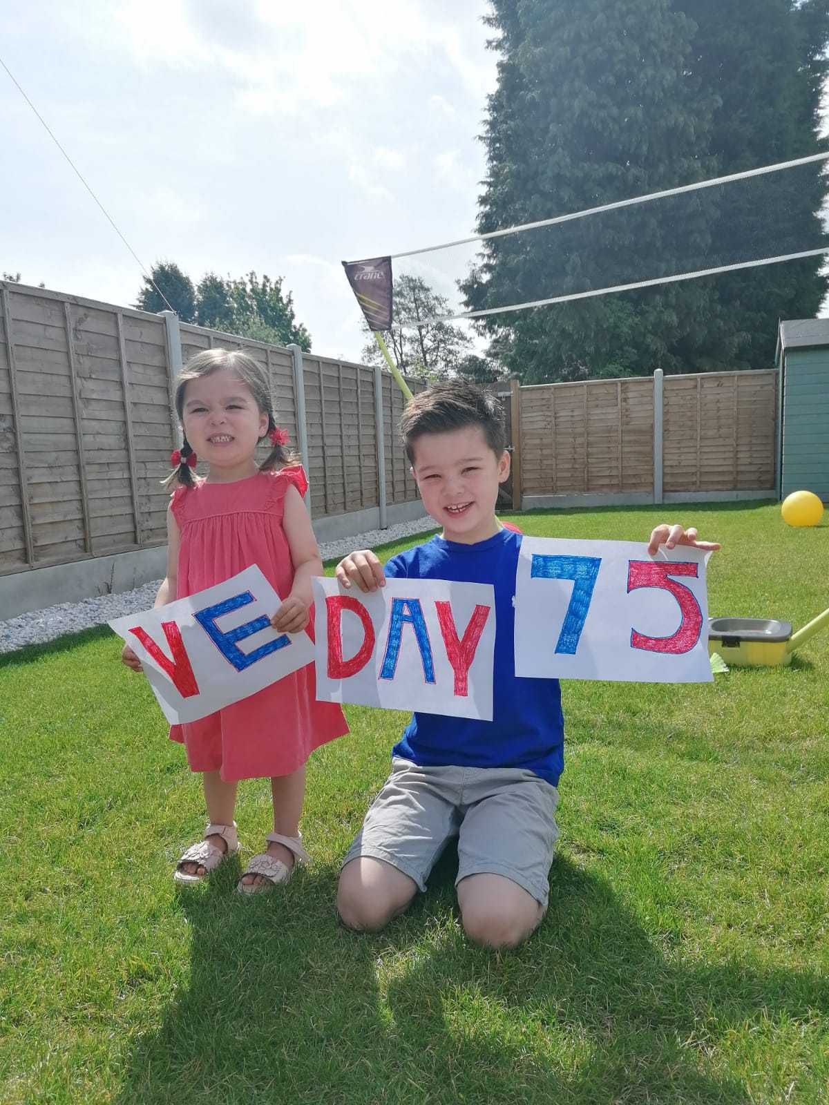 Eden and Noah Chan celebrate in Solihull
