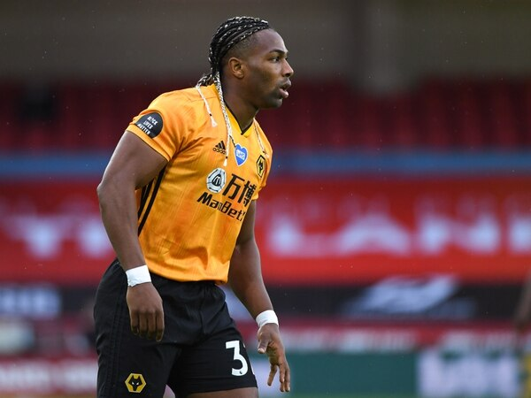 Wolves forward Adama Traore faces a scan on troublesome shoulder