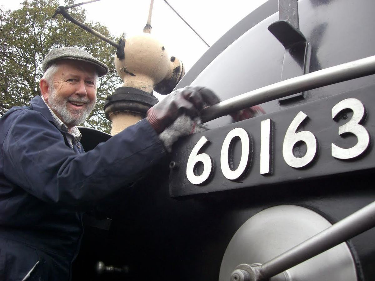Volunteer Richard Hill, whose donation took the appeal total to £1 million for the SVR Charitable Trust