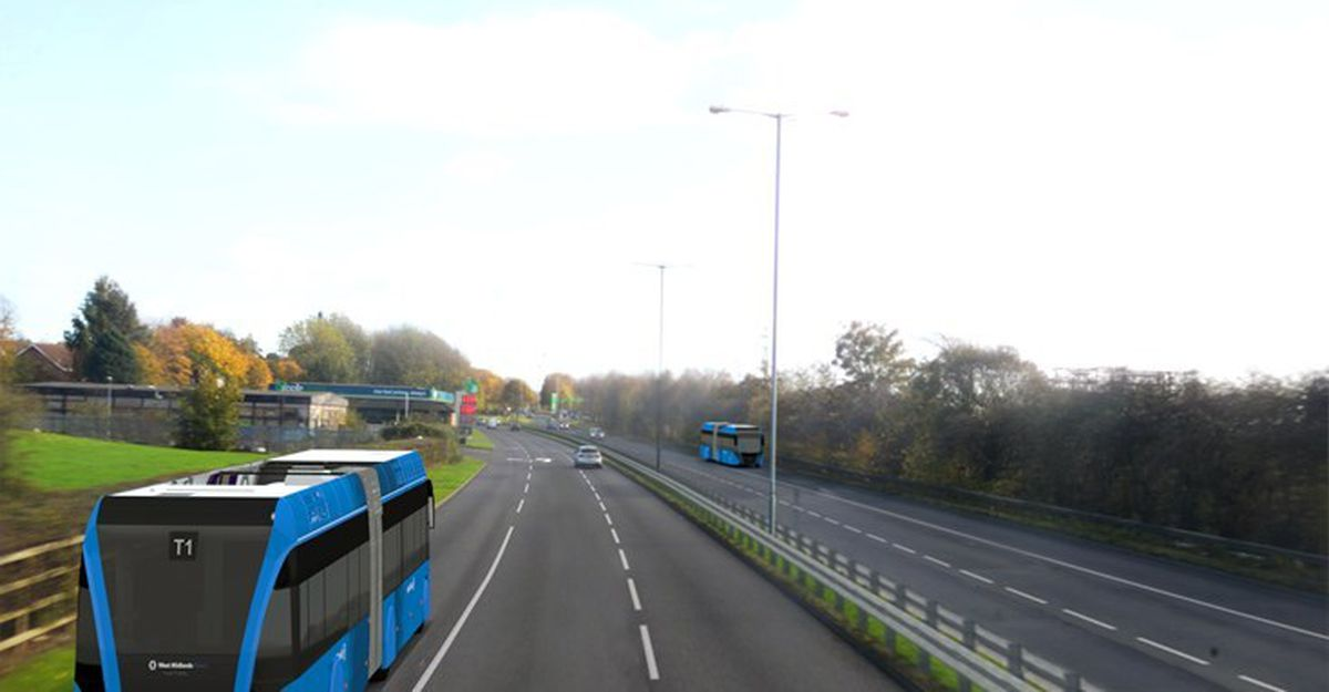 The combined authority has changed its plans for Sprint buses through Walsall