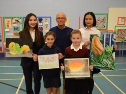 Art competition lights up Cannock school
