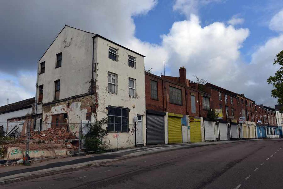 Derelict buildings to be demolished for Walsall regeneration