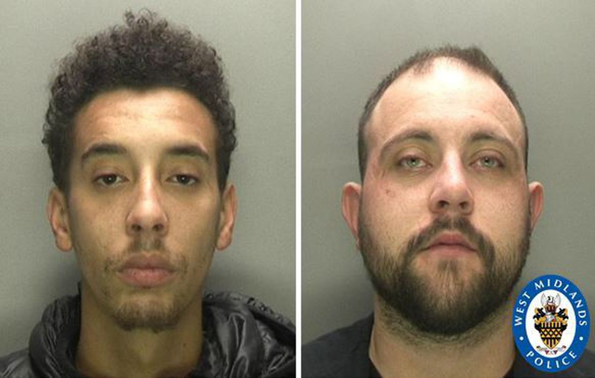 Jake Simpson and Jake Carrier were jailed for four years eight months and five years and seven months respectively