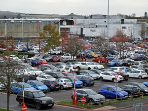 Merry Hill Shopping Centre in Brierley Hill