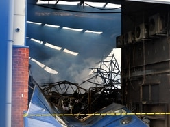 Wednesfield factory fire: Destruction revealed after huge blaze