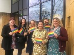 Hospices team up for Birmingham Pride festival