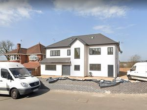 The property in Newton Road, Great Barr, which developers hope to convert into a nursery. Photo: Google