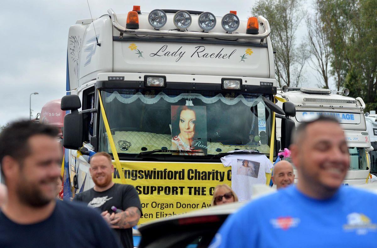 The Lady Rachel truck