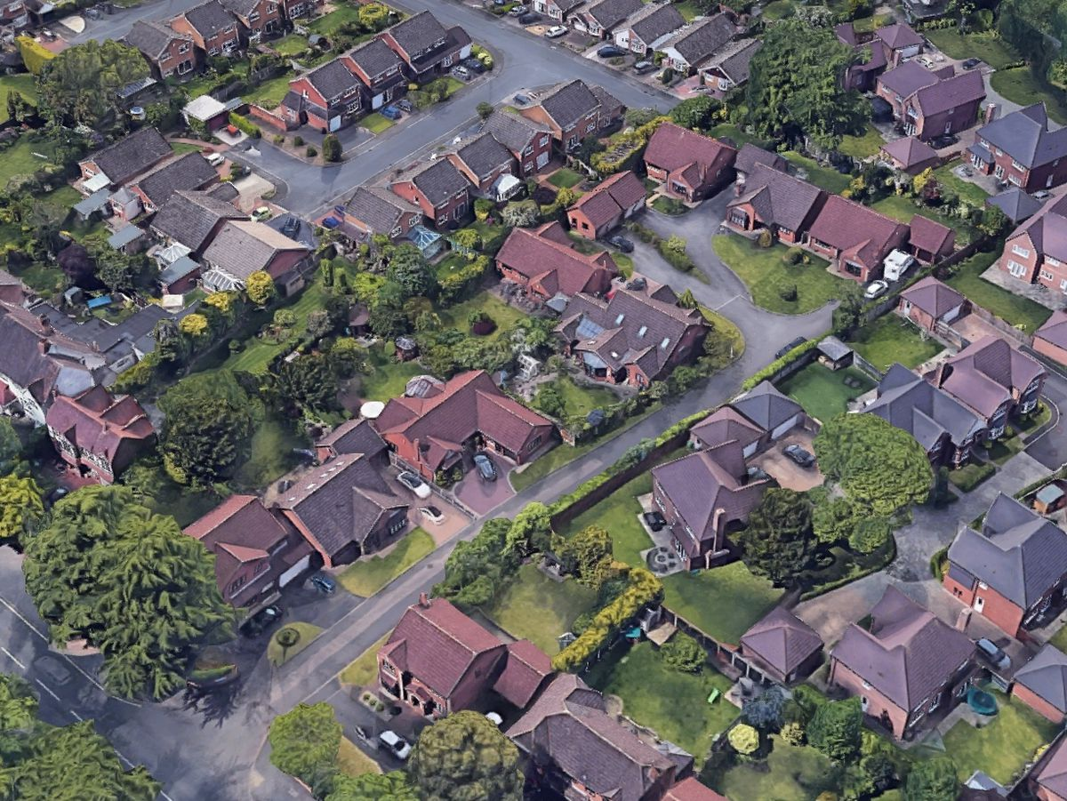 The incident happened at a house in Harringay Drive, Norton, Stourbridge. Photo: Google