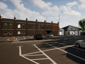 An artist impression of a proposed new exhibition area at Guru Nanak Gurdwara in Willenhall. Photo: Simpatico Town Planning