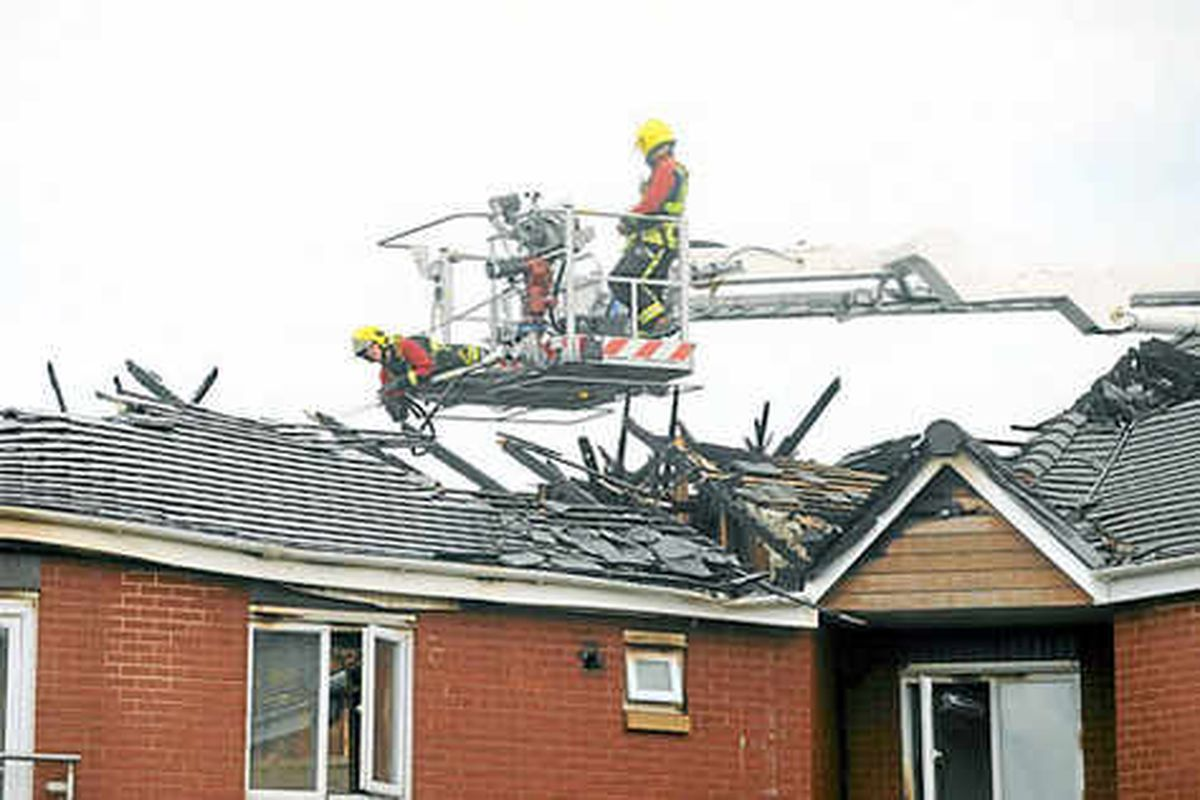 Families in Willenhall are forced to flee as fire hits flats