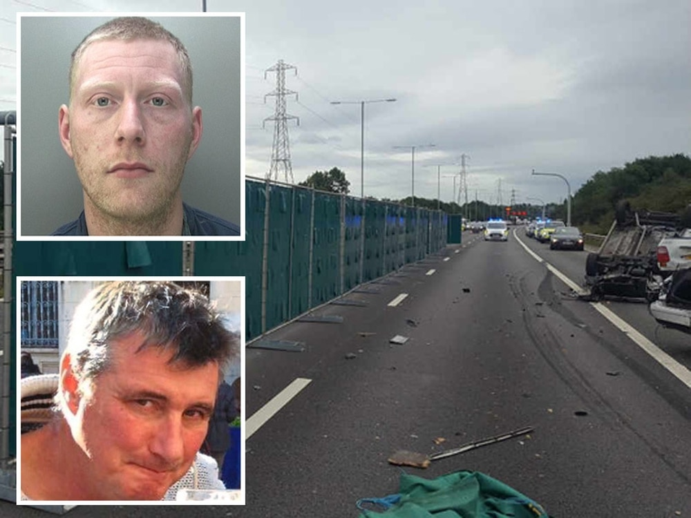 M6 Death Crash Driver Jailed After Father Of Two Killed