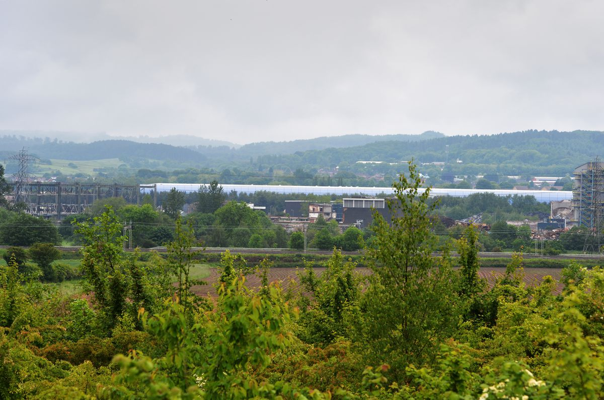 A new view of Rugeley without the cooling towers
