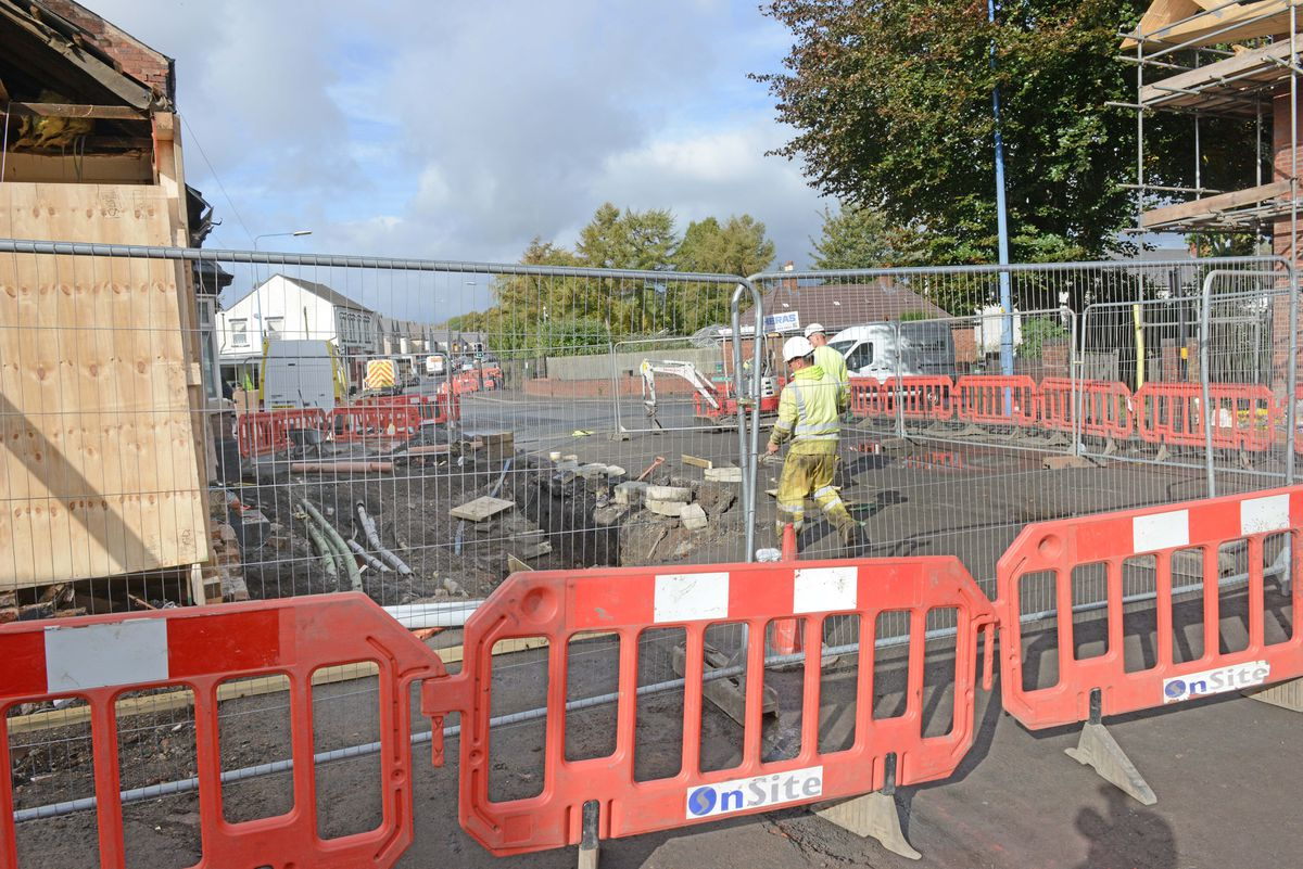 Engineers say the road is likely to remain closed for repairs until next week
