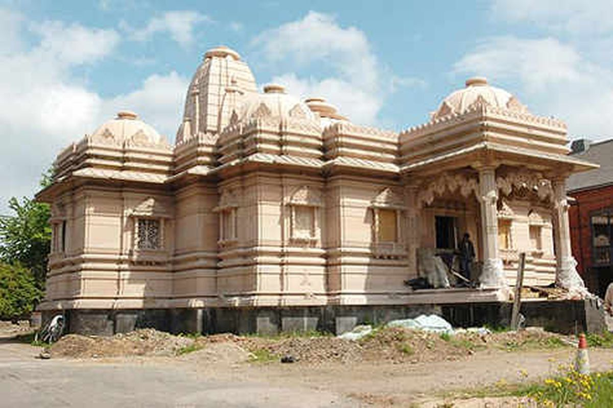 Date set for Hindu temple's opening