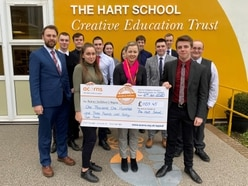 Record breaker for Hart School sixth formers
