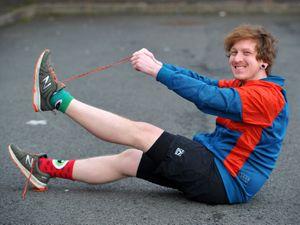 Robert Mann, from Tipton, is preparing to run the Great North Run