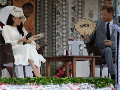Wreath duties for Duke of Sussex as tour of Fiji continues