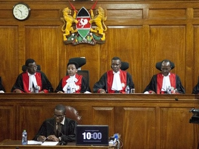 Kenya's top court upholds Kenyatta's win in repeat election