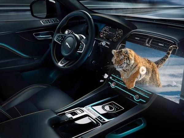 Jaguar Land Rover developing 3D in-car technology