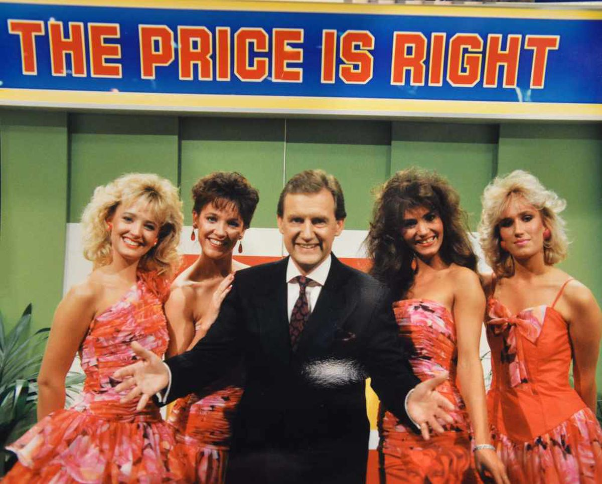 Bob on The Price is Right in the late 80s